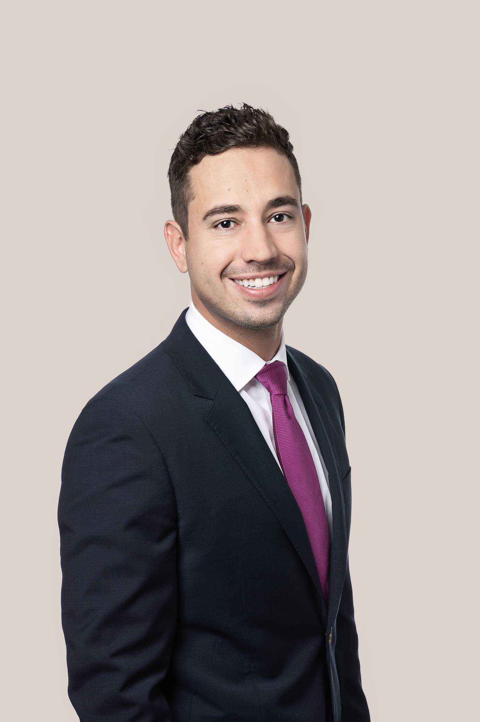 Male law student in Vancouver