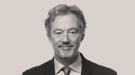 Portrait of late Fasken Partner Mark Andrews