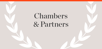Chambers & Partners Publication name with laurels