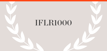 IFLR 1000 Publication name with laurels