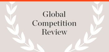 Global Competition Review Publication name with laurels