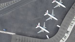 Aviation - Airport - Airplanes at gates
