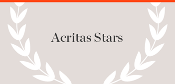 Acritas Stars Publication name with laurels