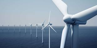 Renewable Energies - Wind turbines at sea