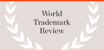 World Trademark Review Publication name with laurels